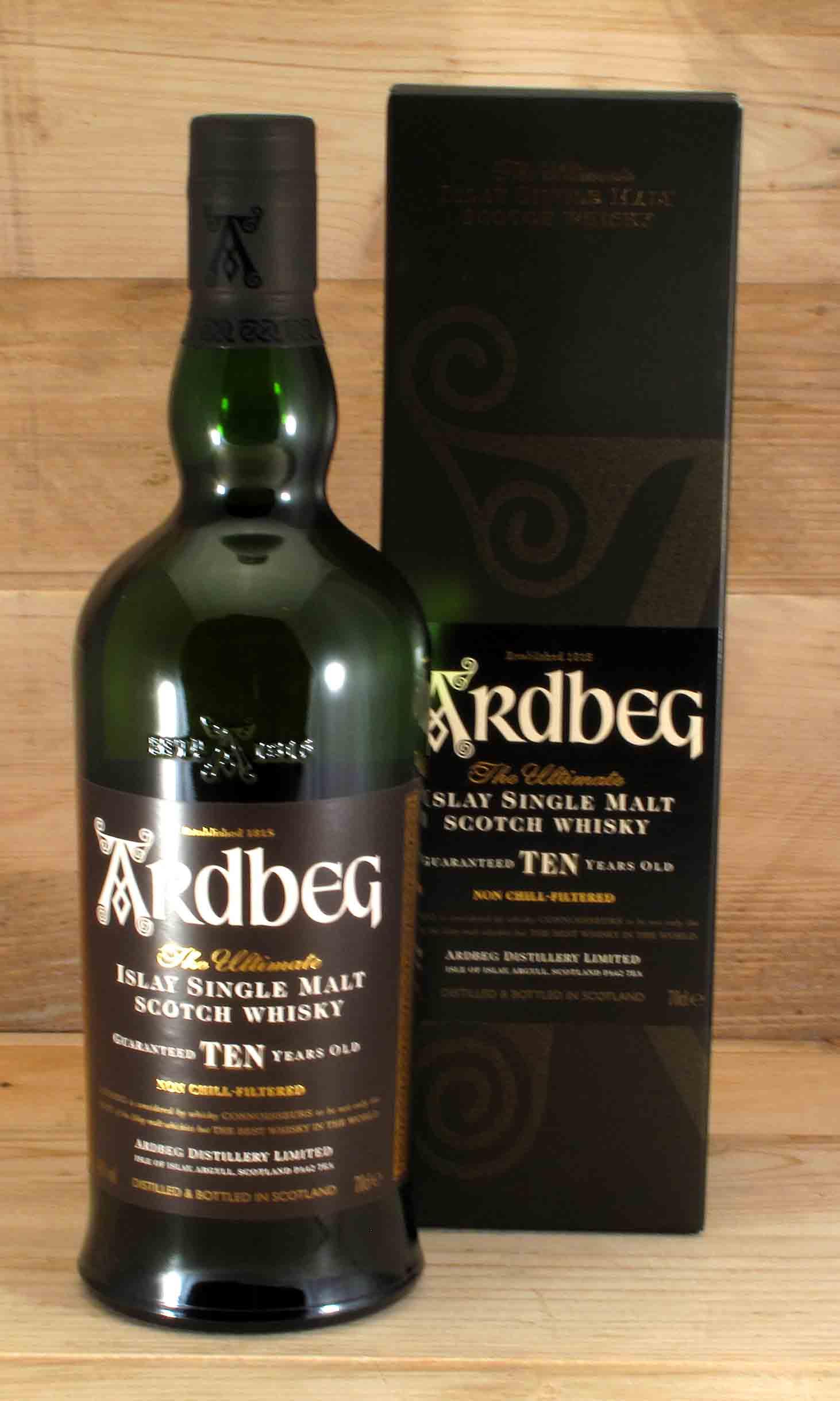Ardbeg 10 Islay Single Malt Scotch Whisky | viel fein [feel fine]