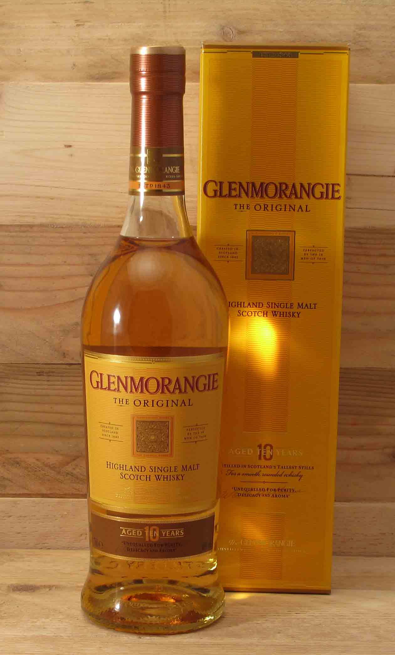 Glenmorangie Original 10 Years Single Malt Scotch Whisky 40% vol ...